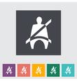 Seat belt vector