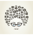 Hairstyle money vector