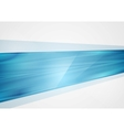 Bright abstract blue tech background vector