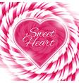 Candy 03 heart vector