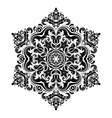 Damask pattern abstract background vector
