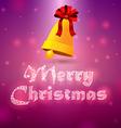 Bells merry christmas 2 vector