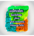 Watercolor texture grunge paper template wet paper vector