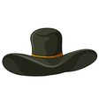 A gray hat vector
