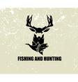 Fishing and hunting vector