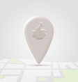 Like local pin over block map vector