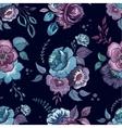Flowers watercolor pattern wallpaper textile vector