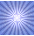 Abstract background with sun rays vector