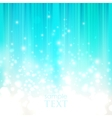 Abstract blue background with sparkles vector