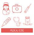 Nurse woman vector
