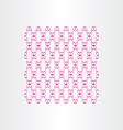 Magenta seamless decorative background vector