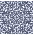 Seamless blue damask vector