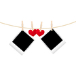 Hearts clothespins 09 vector