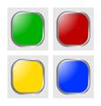 Glossy icon vector