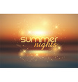 Summer nights background 1407 vector