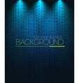 Spotlight background blue vector