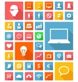 Web and soft icon set vector
