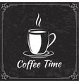 Coffee design for menu vector