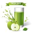 Fresh juice vector