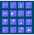 Icons light vector