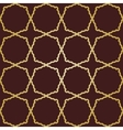Geometric seamless abstract golden grill vector