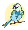 Background with bird vector