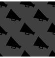 Megaphone loud-hailer web icon flat design vector