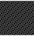 Design seamless black diagonal pattern vector