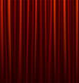 Seamless red curtain vector