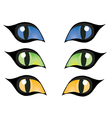 Cats eye vector
