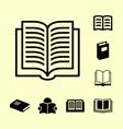 Book icon10 vector