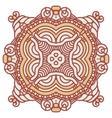 Ornamental ethnicity pattern vector