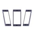 Generic black smartphone vector