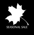 Words seasonal sale vector