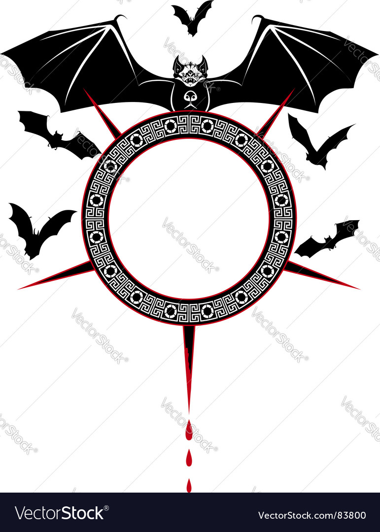 Bats vector | Price: 1 Credit (USD $1)