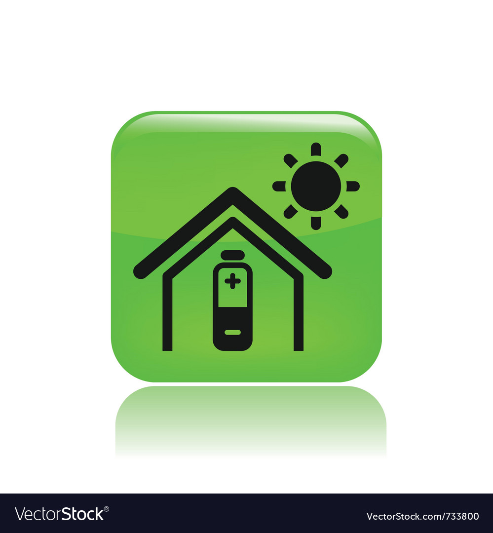 Bioenergy icon vector | Price: 1 Credit (USD $1)