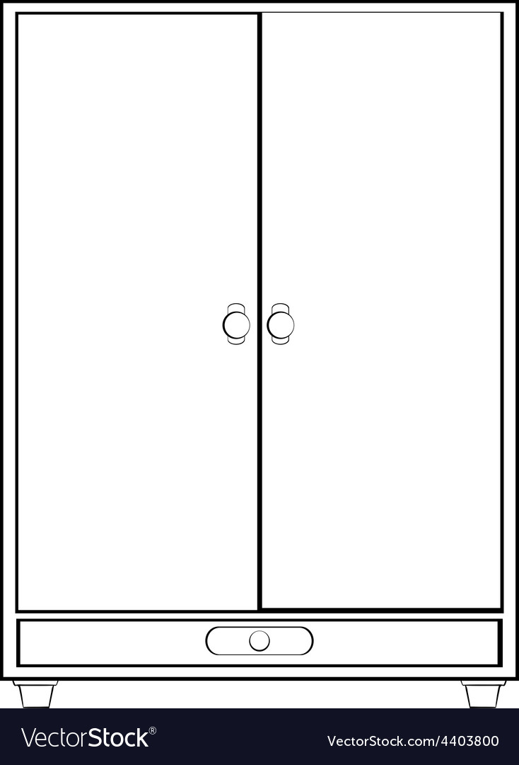 Cabinet vector | Price: 1 Credit (USD $1)