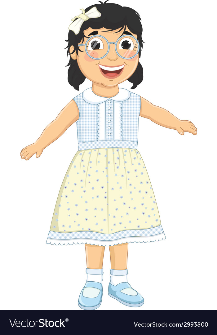 Girl laughing vector | Price: 1 Credit (USD $1)