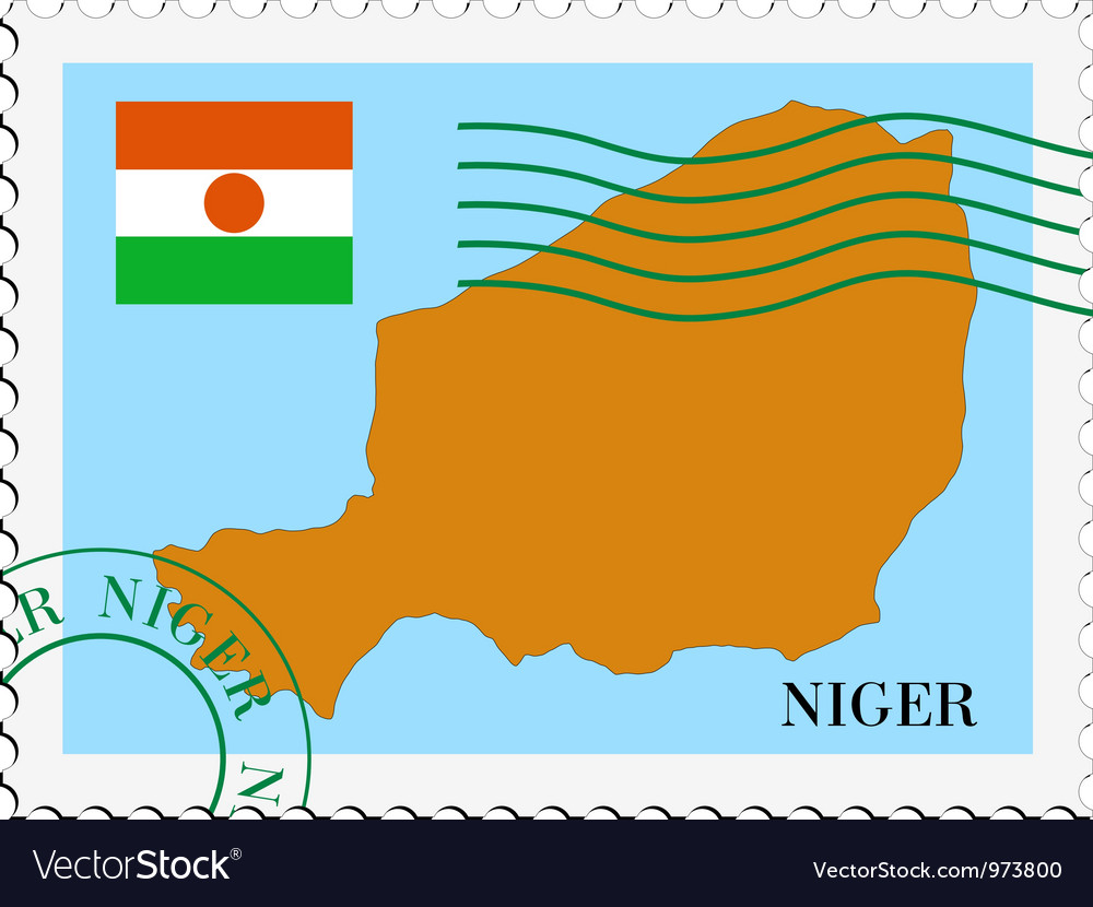 Mail to-from niger vector | Price: 1 Credit (USD $1)