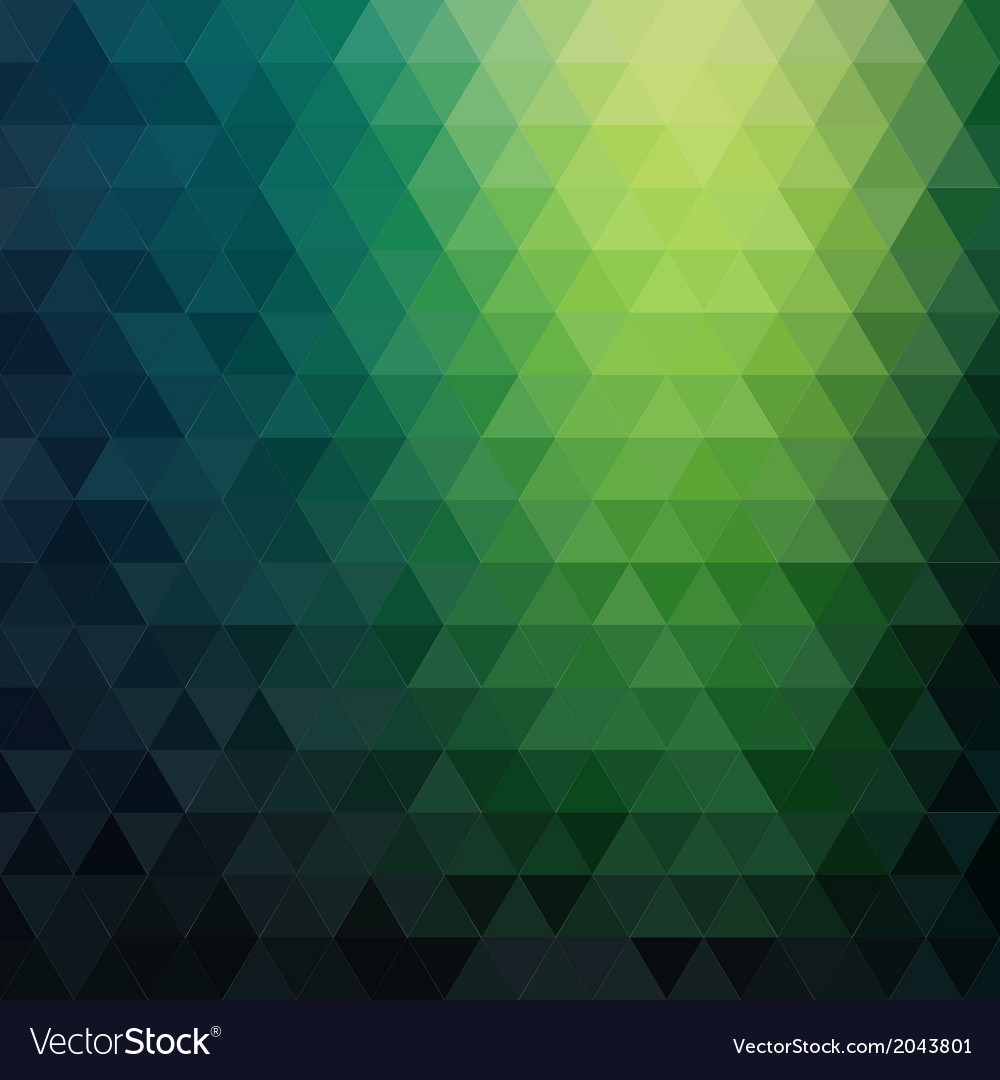 Retro mosaic pattern of geometric triangle shapes vector | Price: 1 Credit (USD $1)