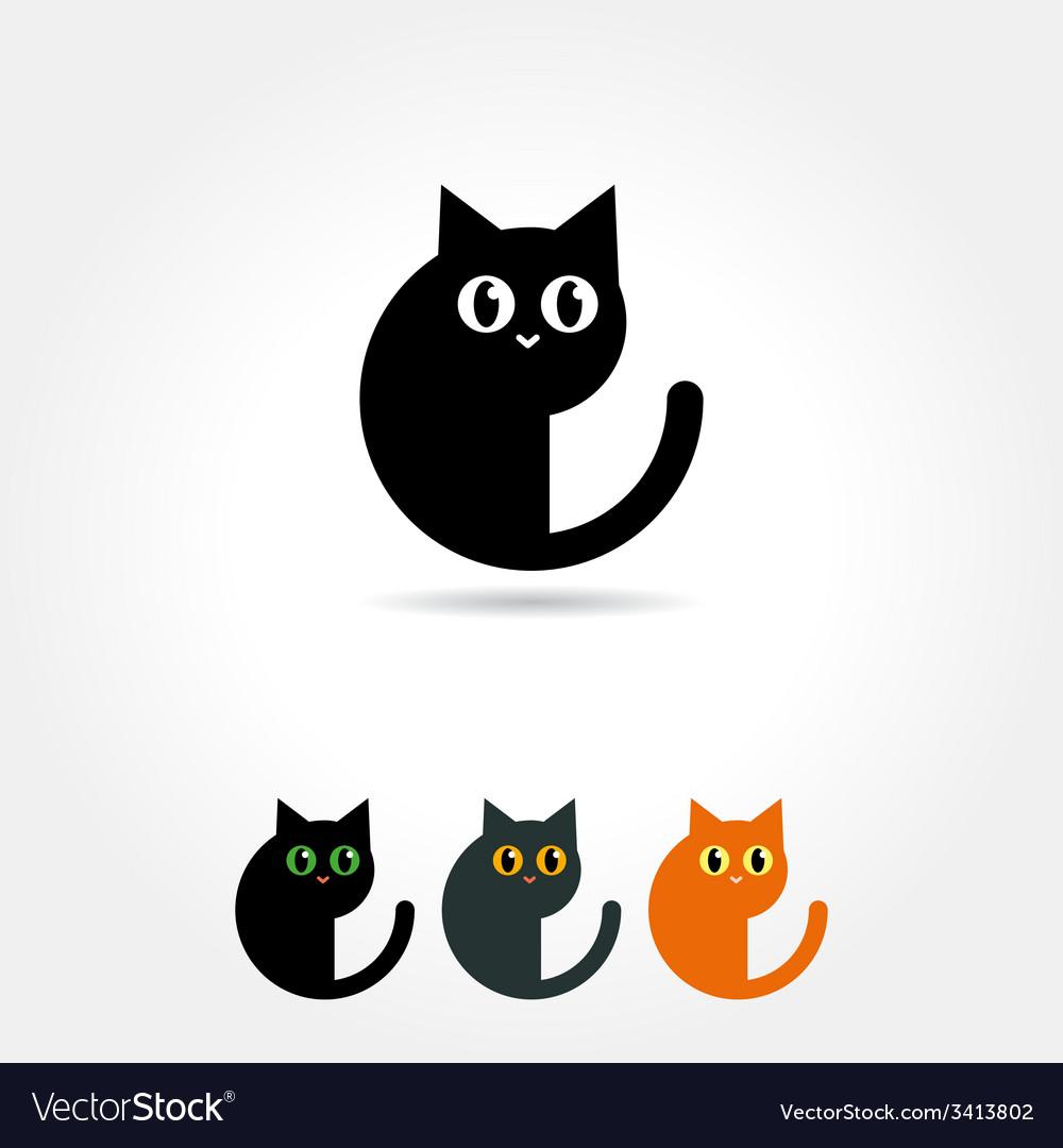 Cat icon vector | Price: 1 Credit (USD $1)