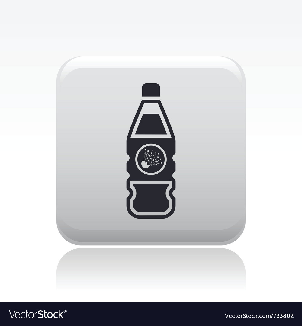 Dangerous bottle icon vector | Price: 1 Credit (USD $1)
