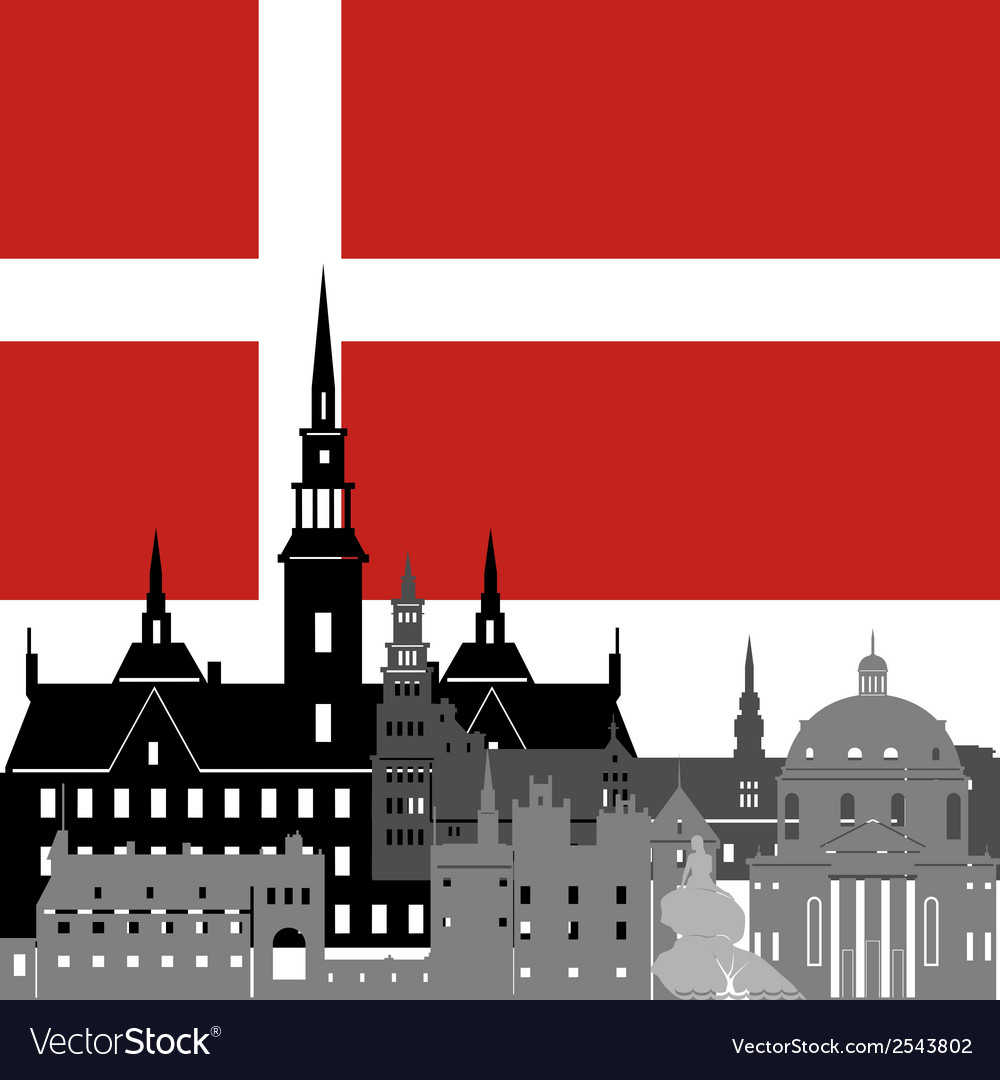 Denmark vector | Price: 1 Credit (USD $1)