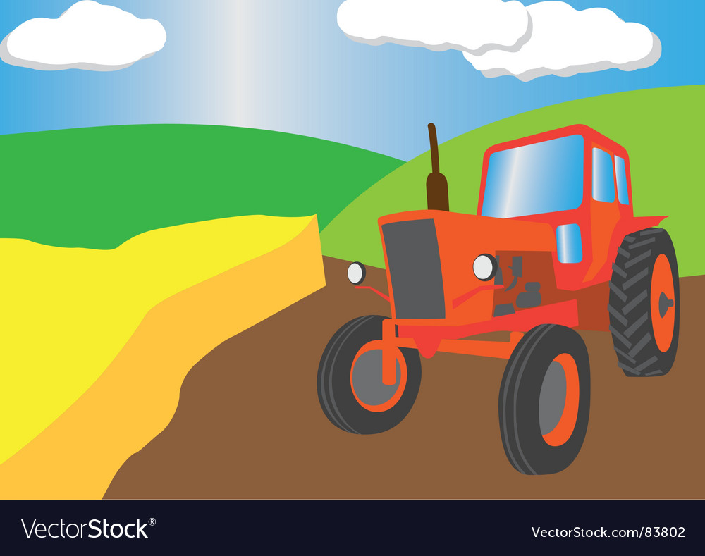 Farming season vector | Price: 1 Credit (USD $1)