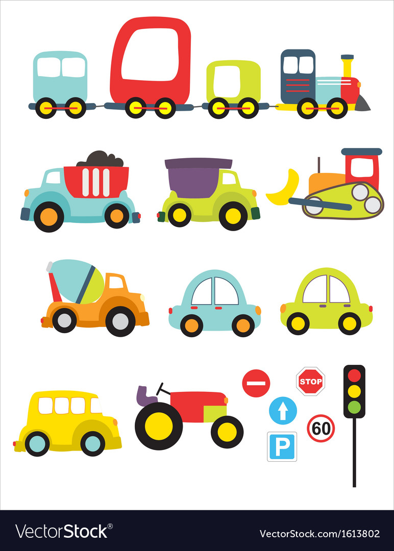 Lovely transport vector | Price: 1 Credit (USD $1)
