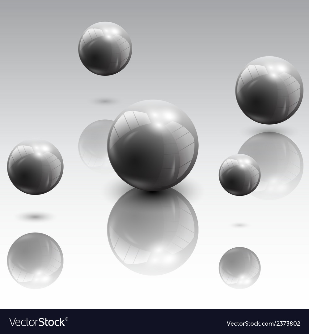Spheres in motion vector | Price: 1 Credit (USD $1)
