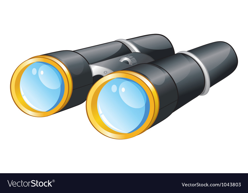 Binoculars vector | Price: 3 Credit (USD $3)