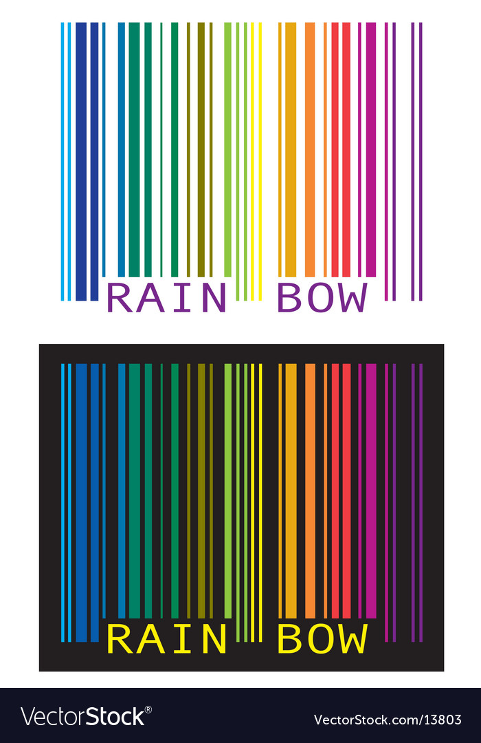 Upc-rainbow vector | Price: 1 Credit (USD $1)