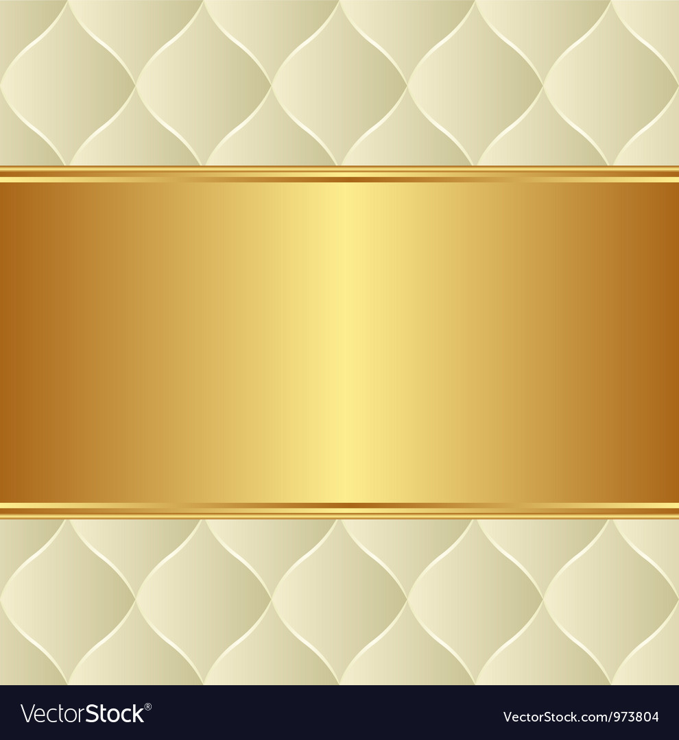 Creamy gold background vector | Price: 1 Credit (USD $1)