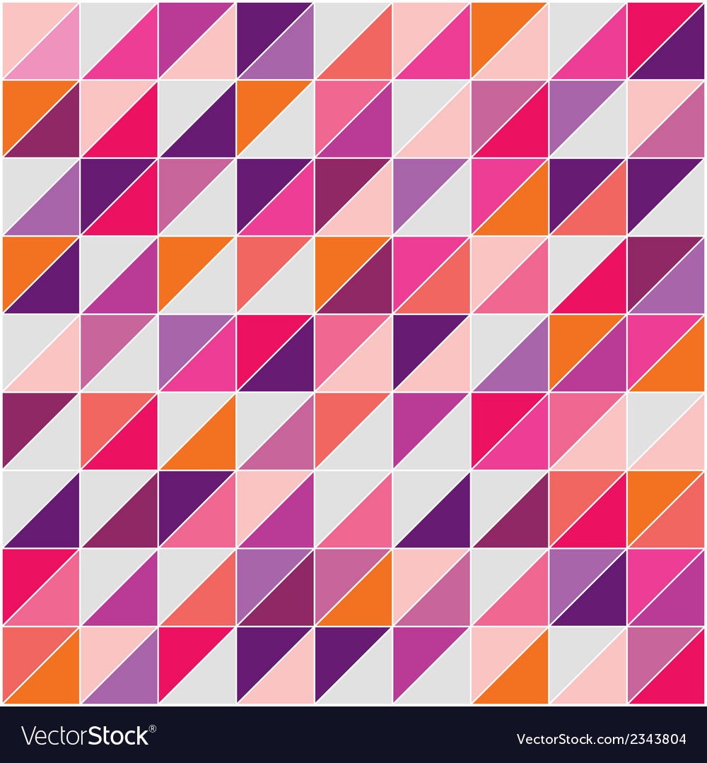 Flat surface tile triangle background wallapaper vector | Price: 1 Credit (USD $1)